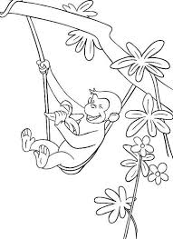 curious george coloring pages getcoloringpages
