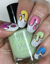 dripping nail art images nail art designs