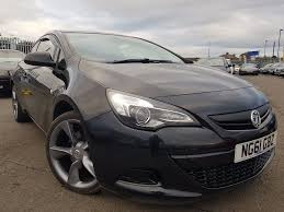 vauxhall astra vxr black used vauxhall astra gtc coupe 1 4 i turbo 16v turbo sport 3dr