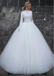 wedding dress discount buy discount vintage satin high collar waistline gown