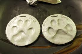 homevolution and cat paw print ornaments