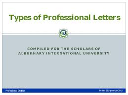 what are the different types of business letters 28 images