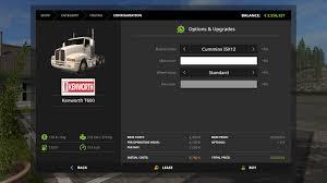 volvo 760 semi truck kenworth t600 semi truck v1 1 0 0 mod farming simulator 2015