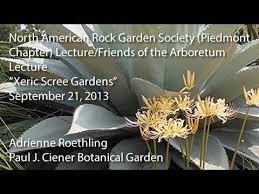 Rock Garden Society Xeric Scree Gardens American Rock Garden Society