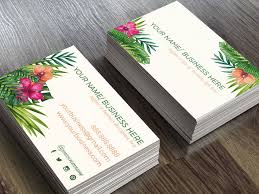 20 floral business cards free premium templates
