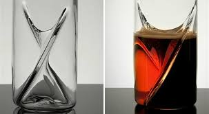 the dual glass two drinks in one