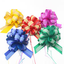 pull ribbon aliexpress buy genie pull bow flower ribbon christmas