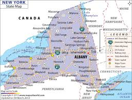 map new york state state of ny map with cities major tourist attractions maps