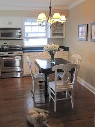 Redo Kitchen Table by Live Creating Yourself Kitchen Table Redo Dark Table Light Chairs