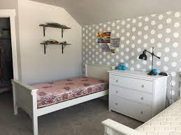 modern farmhouse boys room plans honeybear lane i m keeping their current beds rather than getting the wrought iron ones and painting them a light gray i m going to paint the blue dresser black as well