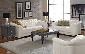 Black And White Sofa Set Designs White Leather Living Room Furniture Living Room