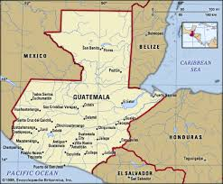 geographical map of guatemala guatemala history geography britannica