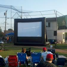 Backyard Movie Night Rental Backyard Movie Night Source One Rentals