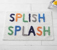 splish splash bath mat pottery barn kids