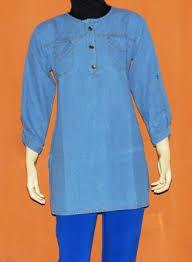 Baju Atasan Rok Levis atasan levis wanita aj918 grosir baju muslim murah tanah abang