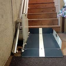 butler mobility residential inclined wheelchair lift transitions