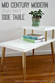 Refurbished End Tables by Best 25 Side Table Makeover Ideas On Pinterest Side Table Redo