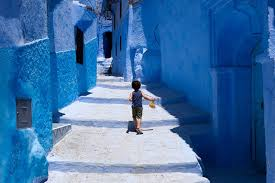 blue city morocco chefchaouen morocco a completely blue city archiobjects