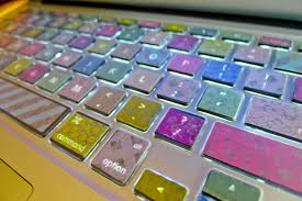 washi tape diy granola to glam diy colorful macbook washi tape keyboard tutorial