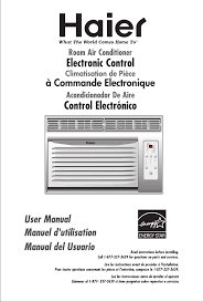 haier air conditioner esa3087 user guide manualsonline com