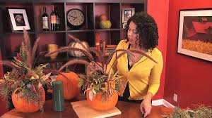 super easy pumpkin centerpiece youtube