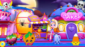 halloween game party shopkins world halloween party spooky bowling game youtube