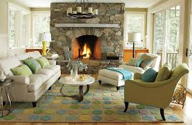 Cable Knit Rug Braided Novelty Rugs Living Room Beach Style With Blue Green Rug