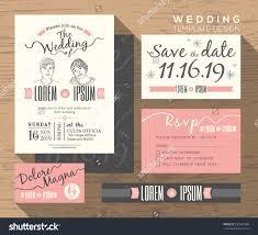 Wedding Invitation Reply Card Wording Wedding Invite Set Vertabox Com