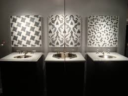 faucet and mosaic display in the 58th st showroom new york 58th