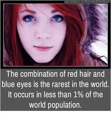 Red Hair Girl Meme - wwwfacebookcomthemedicalfactsdotcom the combination of red hair and