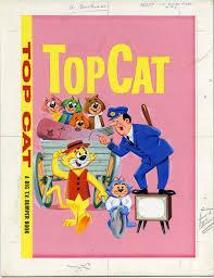 top cat top cat tv bumper book in comicart b u0027s top cat comic art gallery room