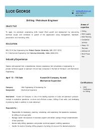 petroleum engineer resume lijoe resume