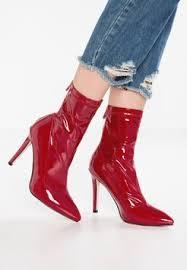 zalando womens boots uk burgundy boots buy zalando co uk