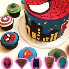 How To Decorate Spiderman Cake Spiderman Cake Ebay