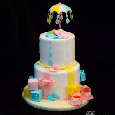 cake tier baby shower two tier cake