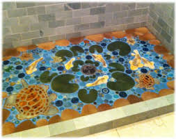 turquoise bathroom floor tiles decorative ceramic tile hand made tiles in fish tiles frog tiles
