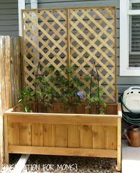 raised cedar garden planter tutorial inspiration for moms