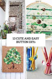 13 cute and easy button crafts for kids and adults shelterness