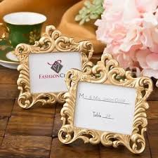 photo frame party favors 100 gold baroque place card frame wedding shower reception party