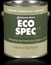 benjamin moore ecospec above all painters
