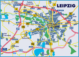 map of leipzig map of leipzig travelsfinders