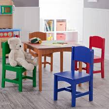 kidkraft nantucket primary table and chair set 26121 hayneedle