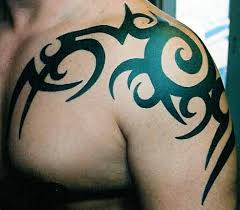 the shoulder tattoos tribal tattoos on chest for
