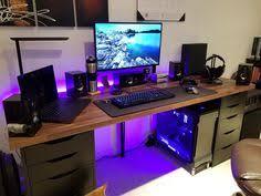 Gaming Desk Setup Ideas Setup Update 29 01 17 Gaming Setup Pc Cases And Desks
