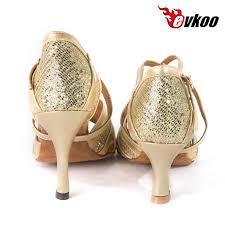 Comfortable Ballroom Dancing Shoes Free Shipping Most Comfortable Gold New Style Salsa Ballroom Dance