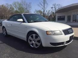white audi a4 convertible for sale audi a4 convertible in indiana for sale used cars on buysellsearch