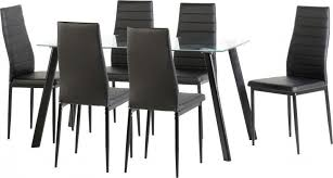 Table With 6 Chairs Abbey Dining Table With 6 Chairs Furniture Appliance Centre