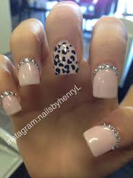 easy leopard print nail design anna charlotta the astonishing pics
