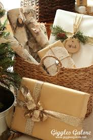 rustic christmas wrapping paper tree challenge rustic reindeer christmas tree