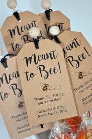 rustic bridal shower favors meant to bee bridal shower favor tags rustic wedding favors